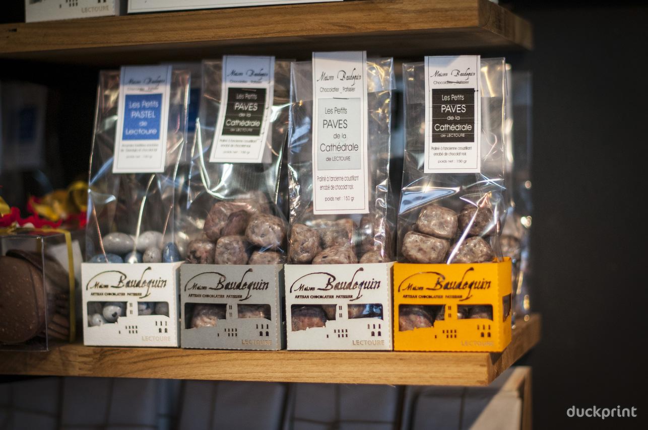 Etui chocolat Maison Baudequin
