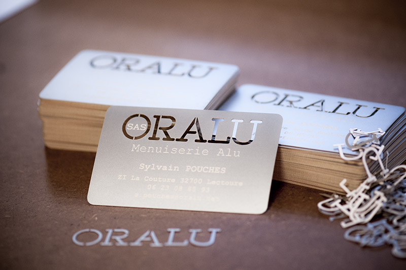 carte de visite Oralu