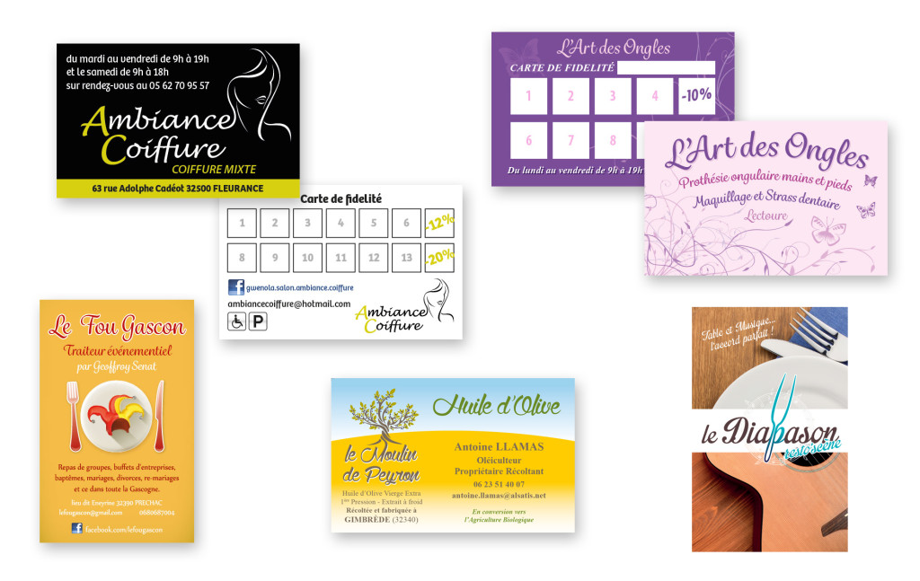 Cartes De Visite DuckPrint